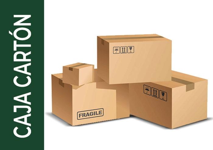 tipo de embalaje caja cartón