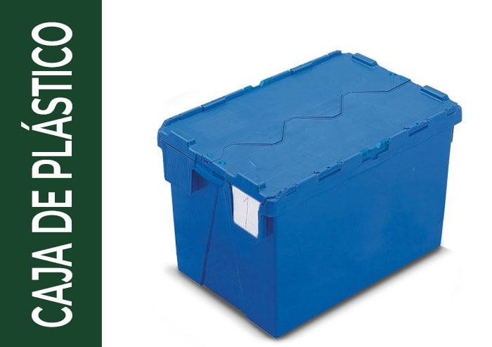 tipo de embalaje caja de plástico